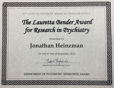 Heinzman Award